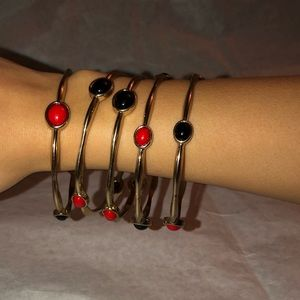 Set of Bracelets, 5 bracelets